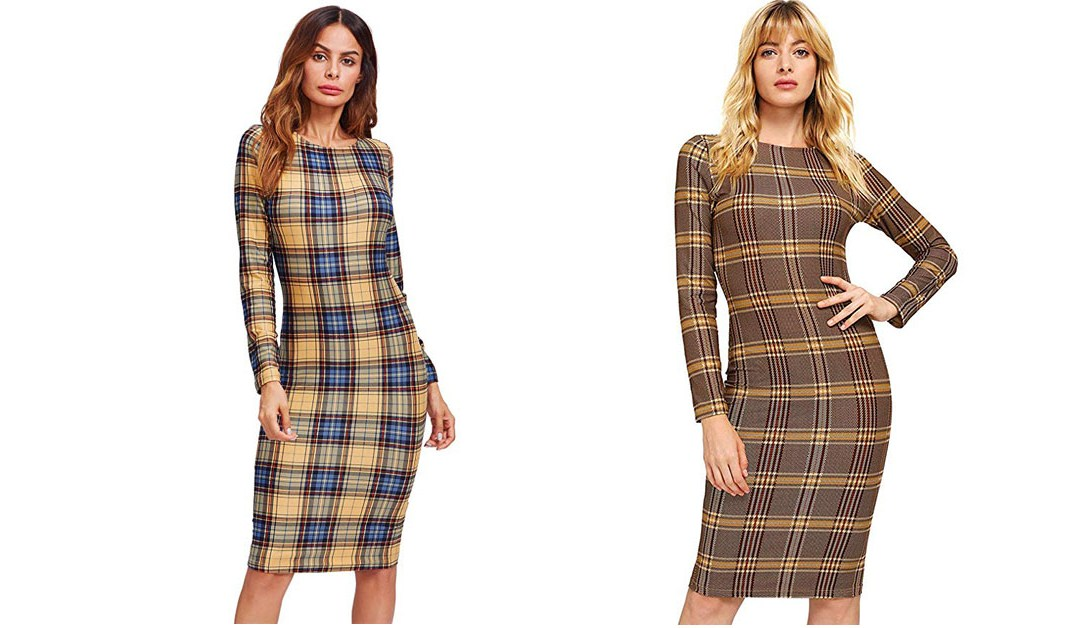 Amazon | LIGHTNING DEAL: Make Me Chic Plaid Dress