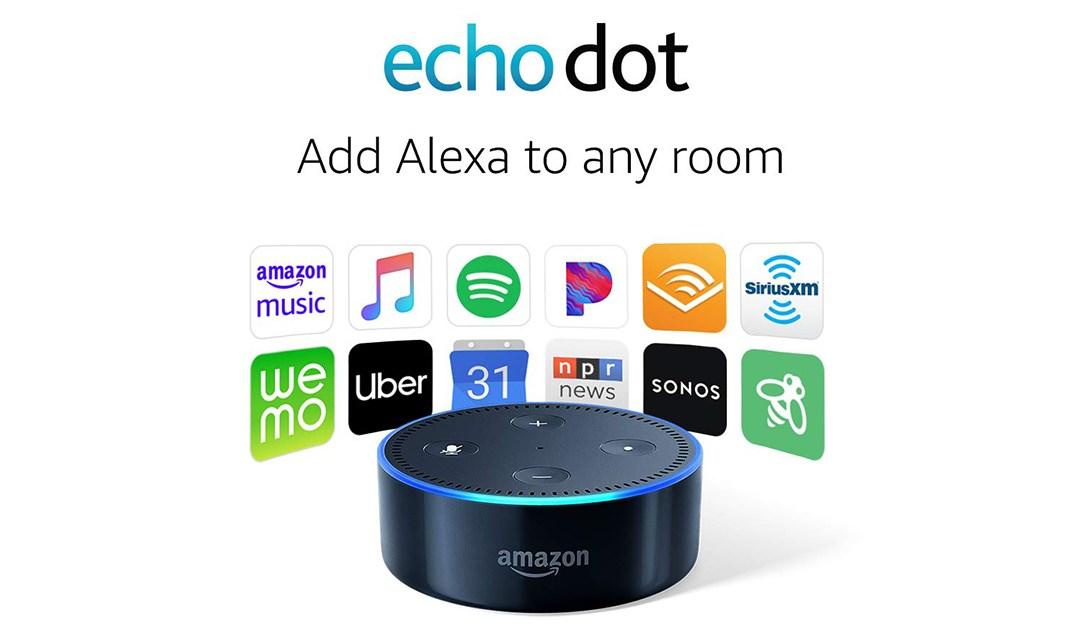Amazon | BEST PRICE: Amazon Echo Dot (2nd Generation, Older Model)