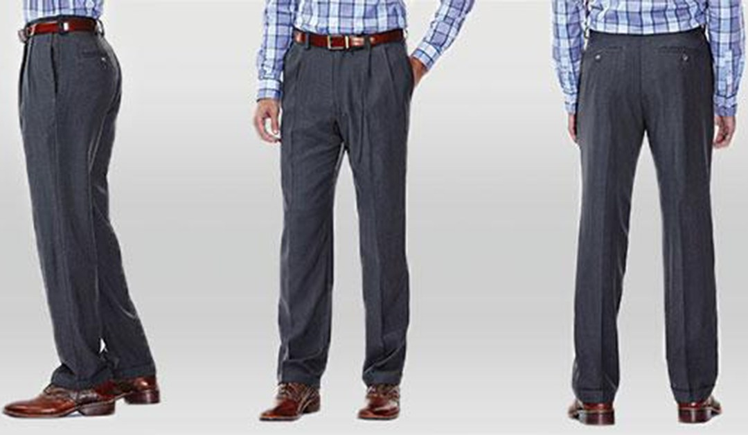 Amazon | BEST PRICE: Haggar Plain Front Dress Pants
