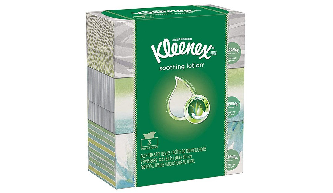 Amazon | BEST PRICE + SUBSCRIBE & SAVE: Kleenex 3 Pack with Lotion