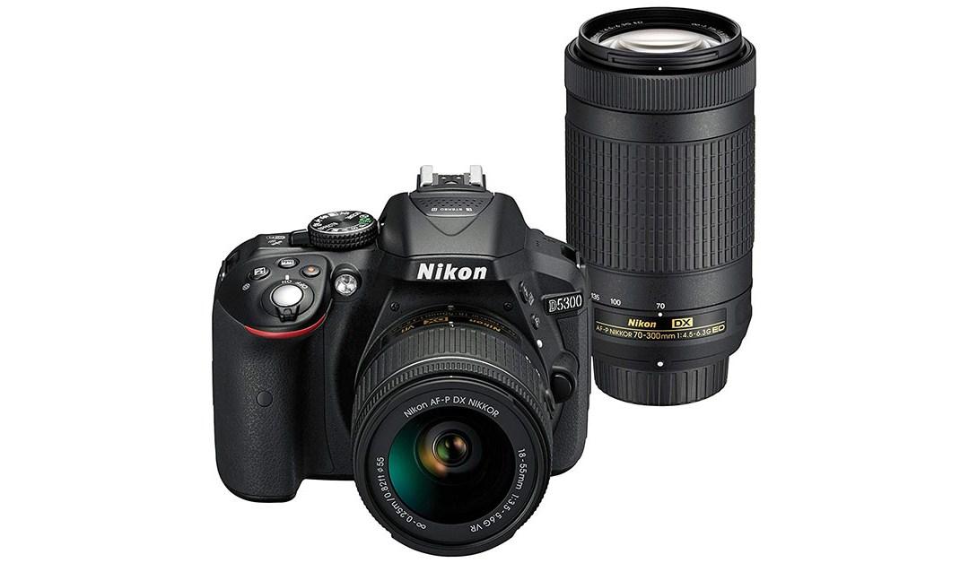 Amazon | BEST PRICE: Nikon D5300 Digital SLR Dual Lens