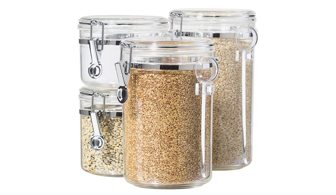 Amazon | BEST PRICE + COUPON: Oggi 4- Piece Canister Set