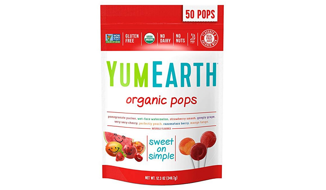 Amazon | BEST PRICE + SUBSCRIBE & SAVE + ADD-ON: YumEarth Organic Lollipops