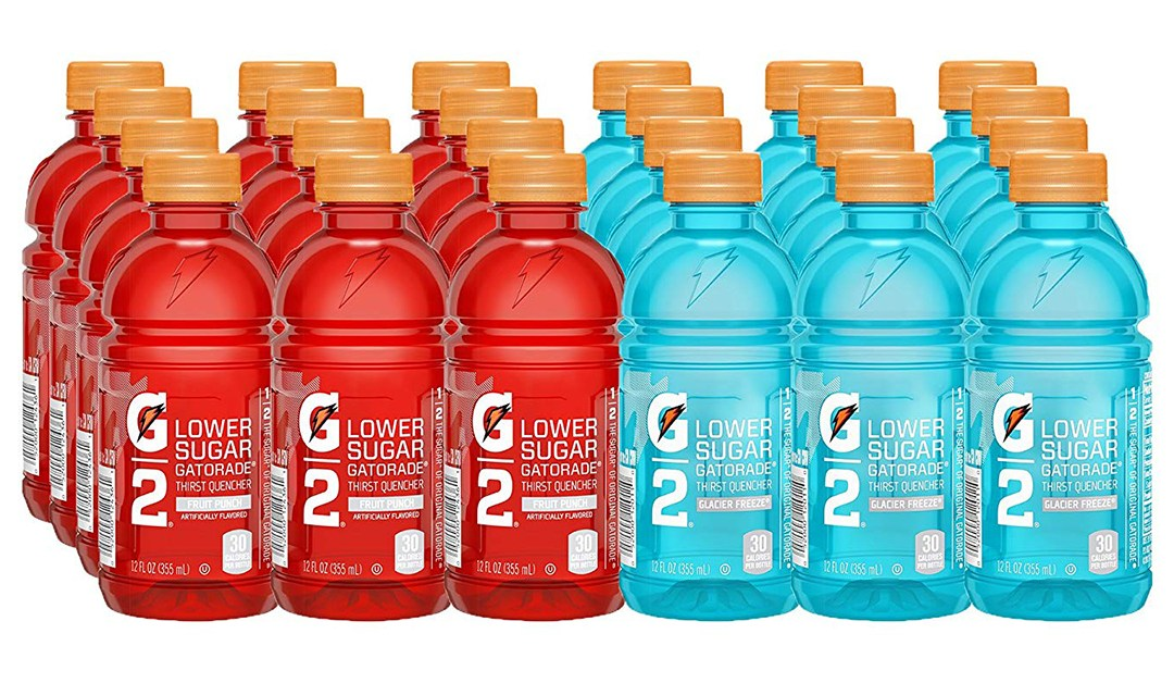 Amazon | GOOD DEAL + COUPON: Gatorade 12oz bottles (24 Pack)