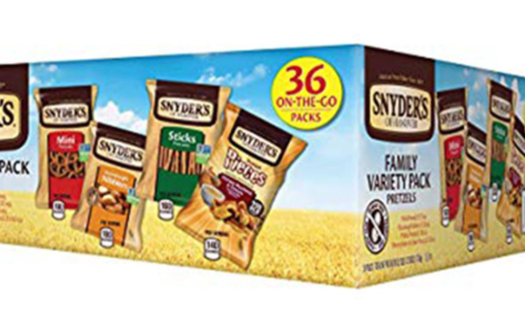 Amazon | SUBSCRIBE & SAVE + COUPON: Snyder's Variety Pack