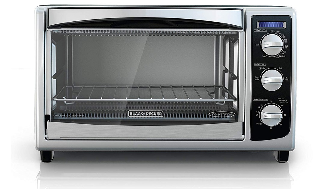 Amazon | BEST PRICE: Black & Decker Convection & Toaster Oven
