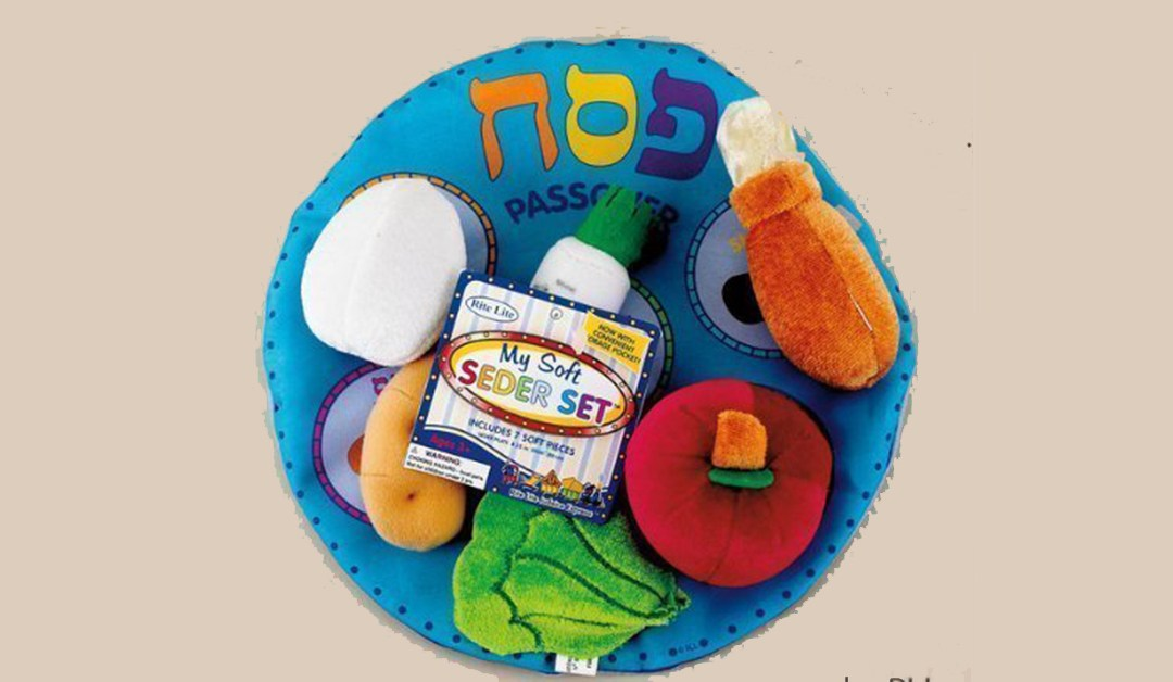 Amazon | GOOD DEAL: Rite Lite Plush Seder Plate