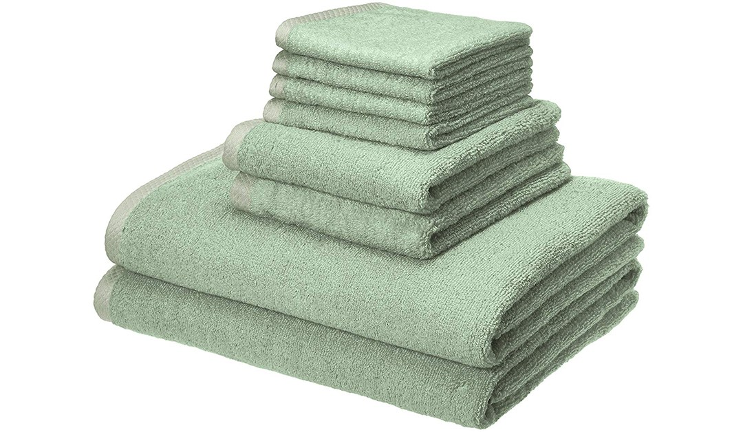 Amazon | BEST PRICE: Amazon Basics Quick Dry 8-piece Towel Set