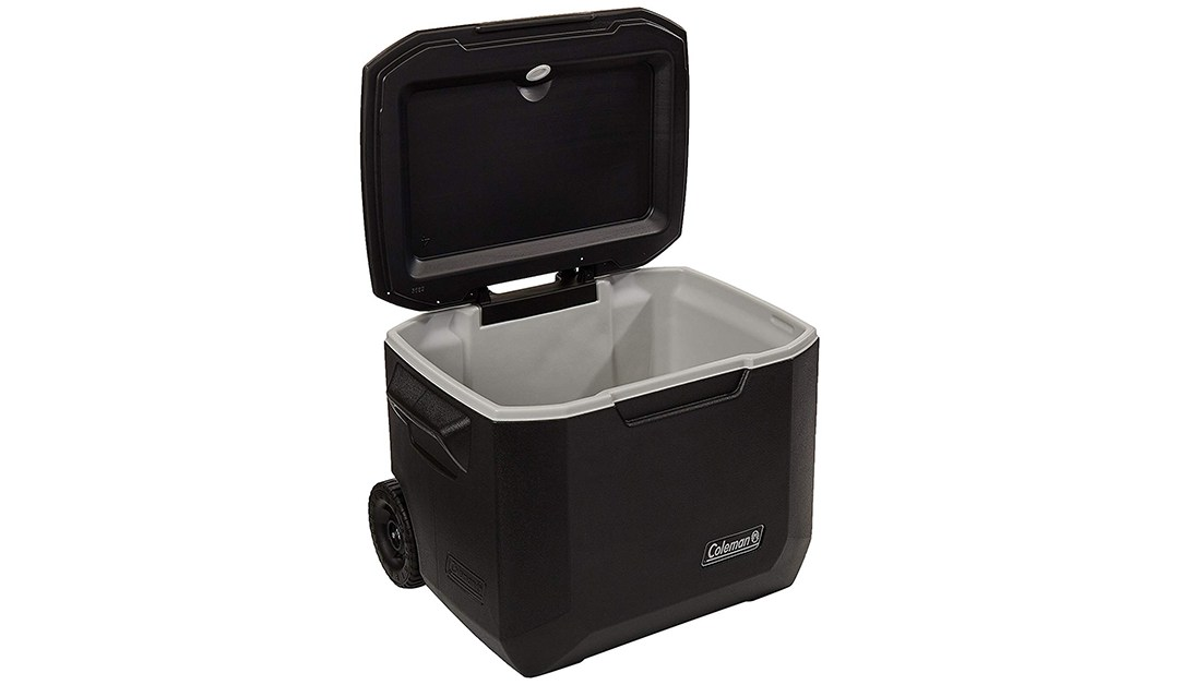 Amazon | BEST PRICE: Coleman 50 Quart Wheeled Cooler in Black