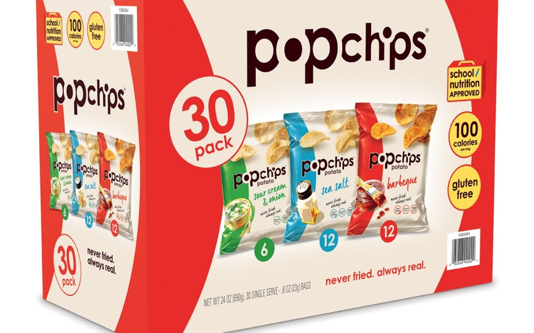 Amazon | GOOD DEAL + SUBSCRIBE & SAVE: Popchips Variety Pack