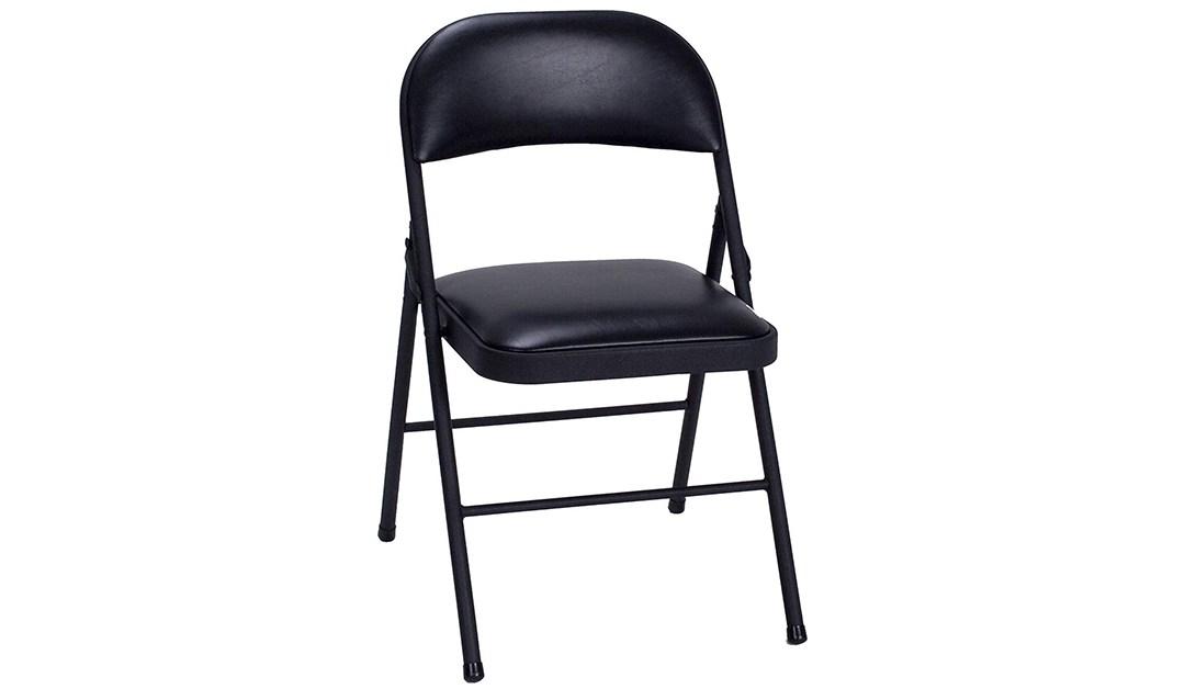 Amazon | GOOD DEAL: Cosco 4 Pack Vinyl Chairs