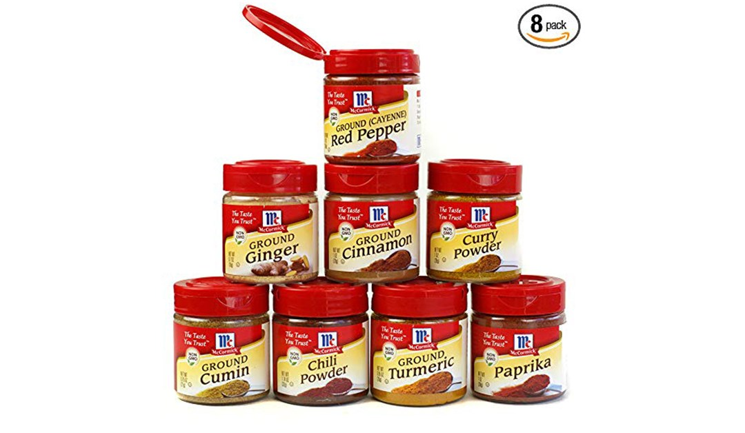 Amazon | GOOD DEAL + COUPON + SUBSCRIBE & SAVE: McCormick Spice Pack of 8