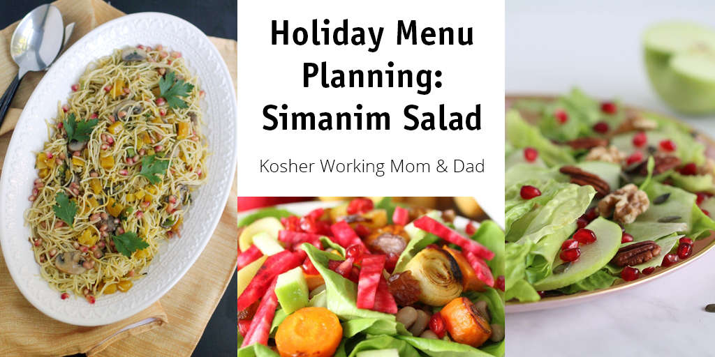 Holiday Menu Planning: Simanim Salad