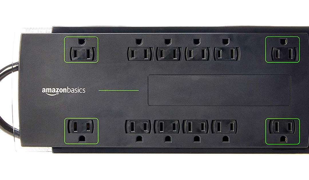 Amazon | BEST PRICE: 12 Outlet Power Strip Surge Protector