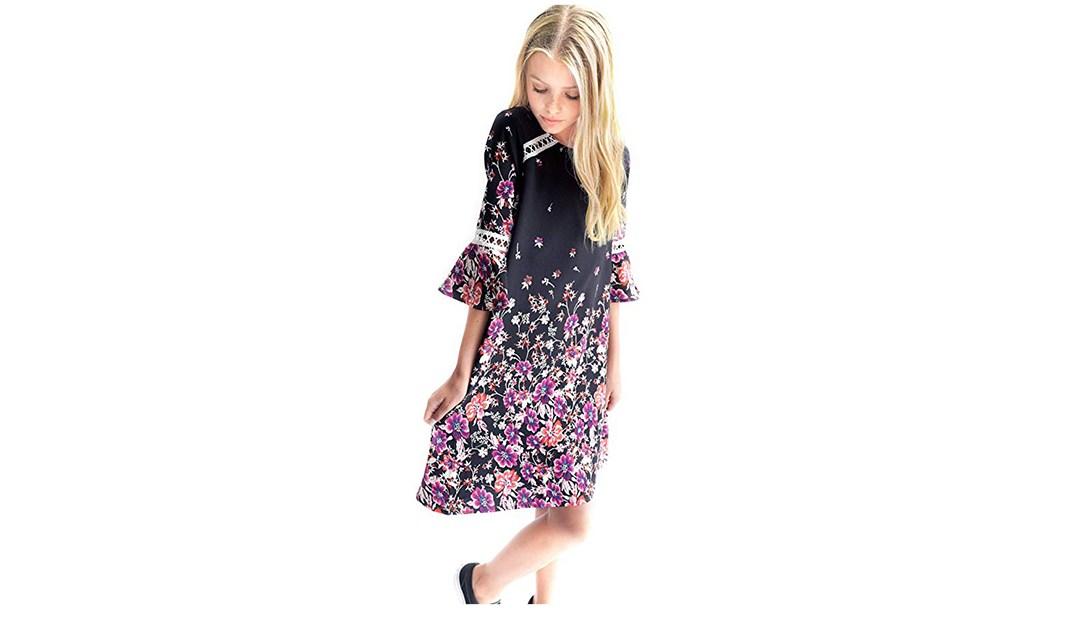 Amazon   BEST PRICE: Smukke Bell Sleeve Dress
