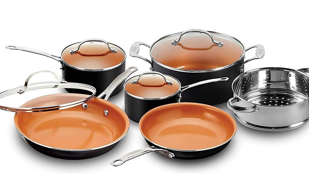 Amazon | BEST PRICE: Gotham Cooper Cookware Set