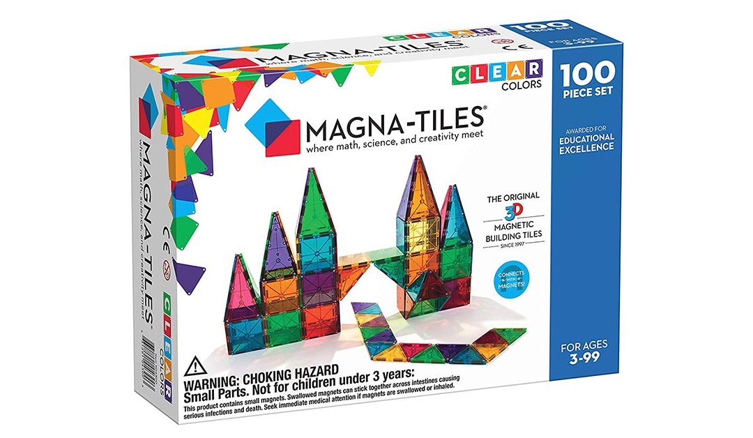 Amazon | BEST PRICE: Magnatiles 100-Piece Set