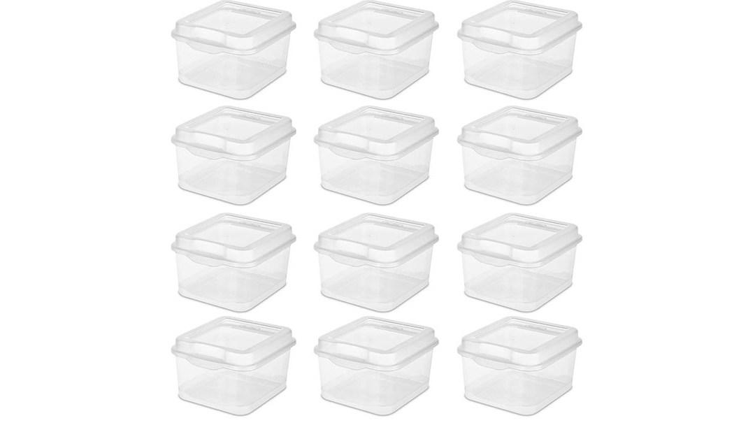 Amazon | BEST PRICE: Sterilite Containers
