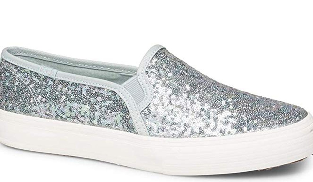 Amazon | BEST PRICE: Keds Women's Double Decker Mini Sequin Shoes