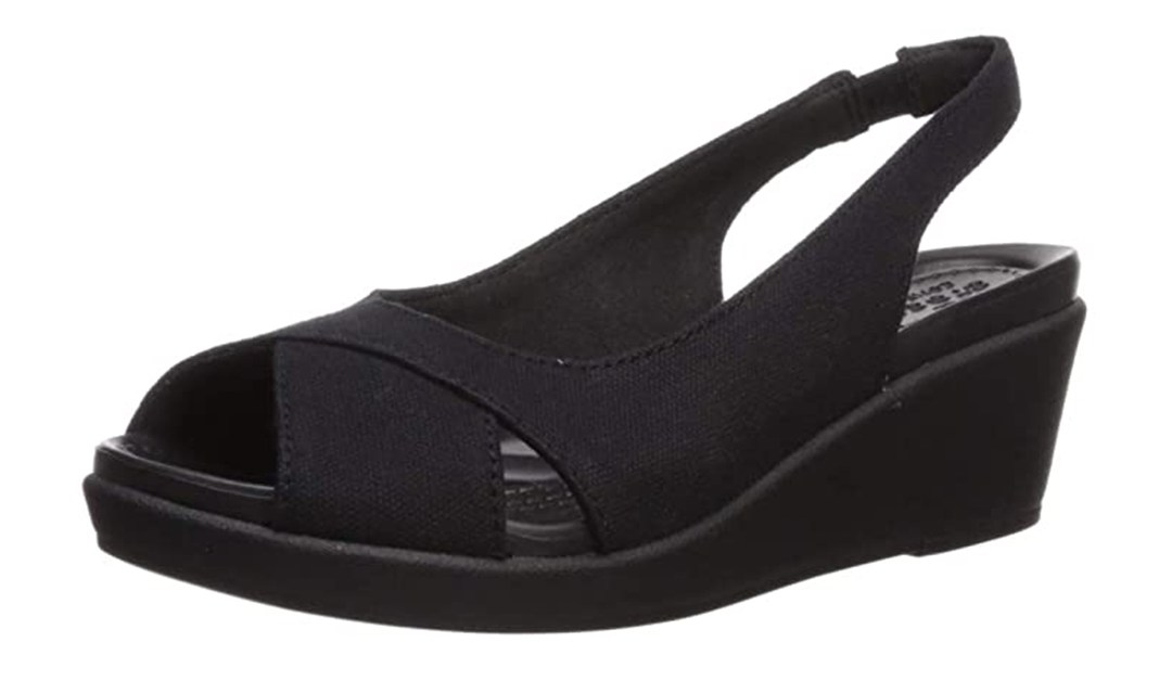 Amazon | BEST PRICE: Black Crocs Slingbacks