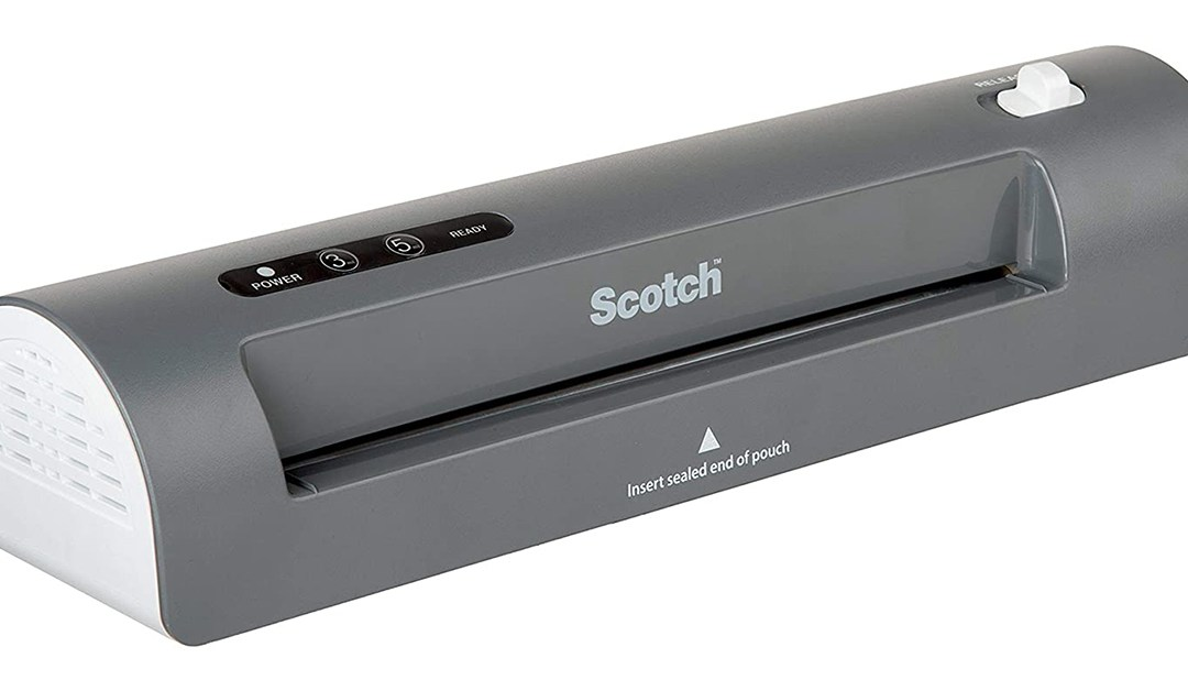 Amazon | GOOD DEAL + COUPON: Scotch Thermal Scanner