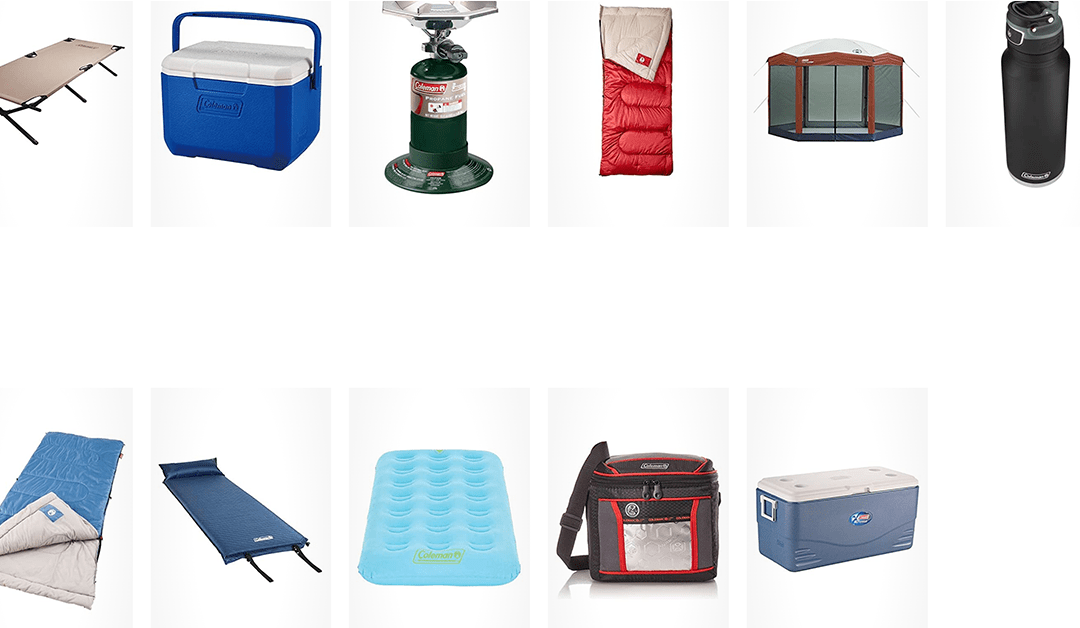Amazon | DEAL OF THE DAY: Coleman Camping Products