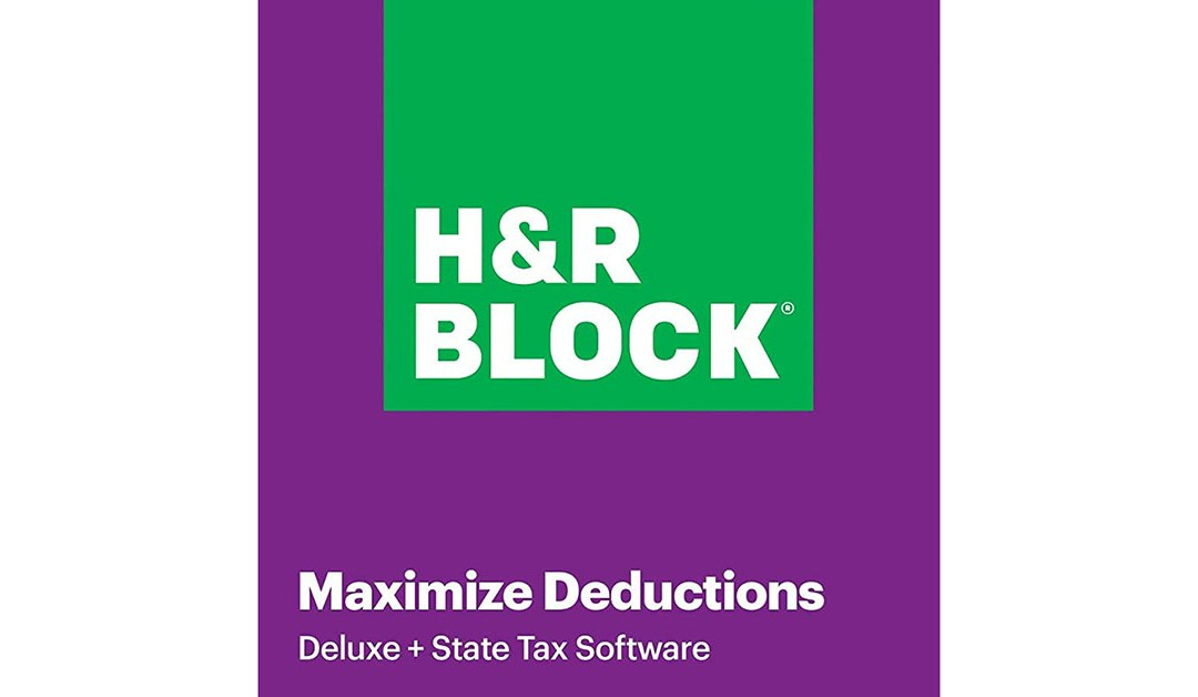 Amazon | BEST PRICE: H&R Block Tax Software Deluxe + State 2020 with Refund Bonus Offer (Amazon Exclusive) [PC Download]
