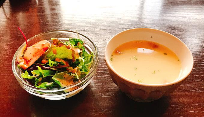 パンゲア(サラダとスープ)
