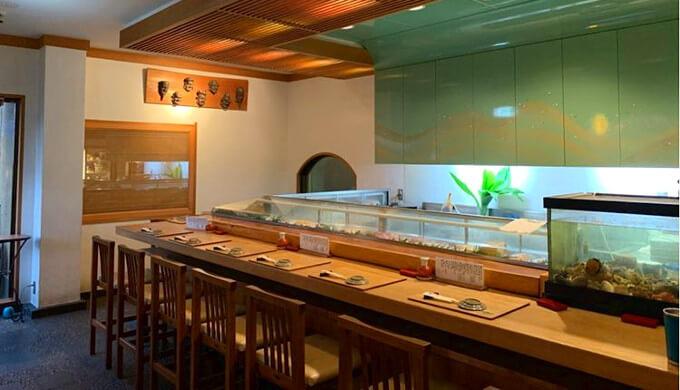 浜丁寿司の中