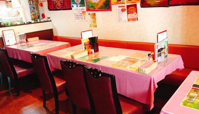 ラジ(テーブル席)