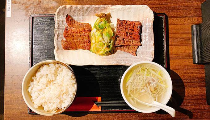 天の太助(牛タン食べ比べ定食)