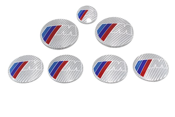 Alutex Badge Cover BMW M Power