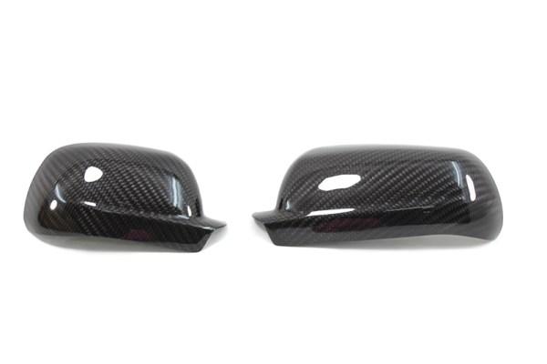Carbon fiber Golf mk4 IV mirror caps
