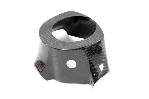 Carbon fiber Nissan GT-R R35 steering wheel shroud