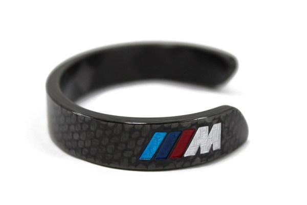 Carbon fiber bracelet M Power logo