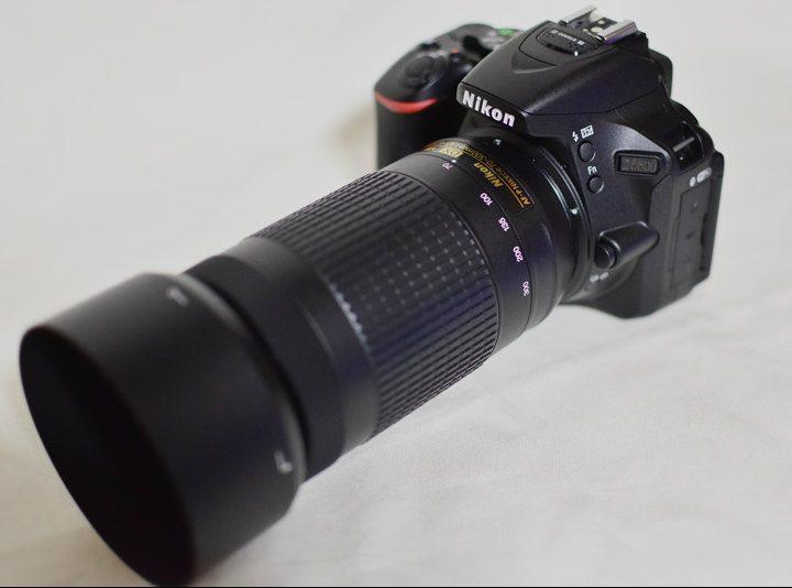 『AF-P DX NIKKOR 70-300mm f/4.5-6.3G ED VR』とD5600