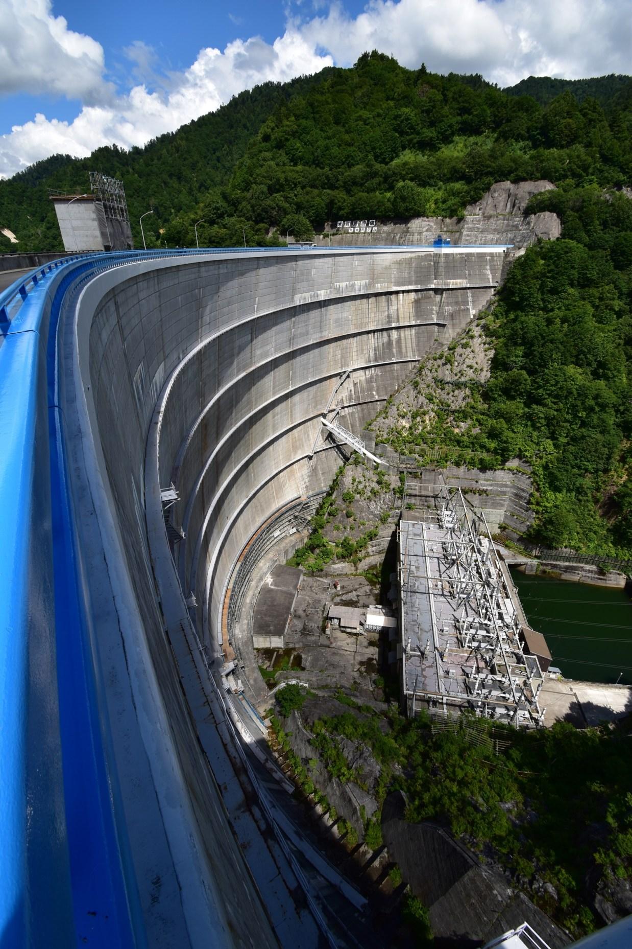 奥利根湖『八木沢ダム』での撮影