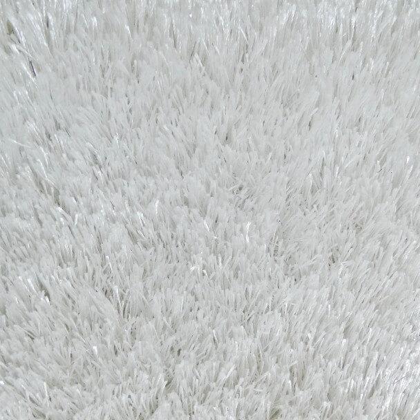 petit tapis shaggy 100x70 cm descente de lit helsinki blanc