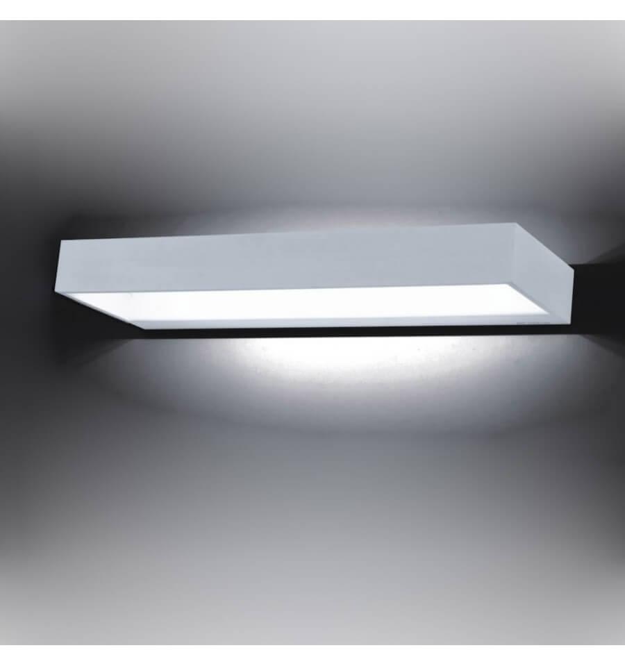 Applique Murale LED Rectangle 12W 40 Cm Recto