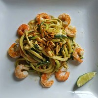 Meatless Monday: Zoodles with Spicy Asian Peanut Sauce