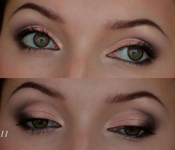 Мерцающий макияж с тенями Bourjois Intense extrait 03 ...