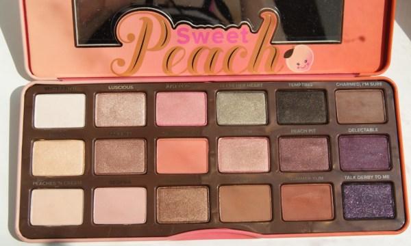 sweet peach palette # 73