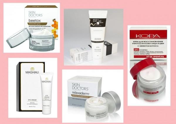 Кремы с содержанием ботокса можно найти в специализированном косметологическом магазине
