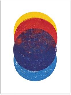 Illustration, 2018, Linoldruck, 46 x 32 cm