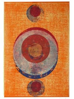 Intervention, 2019, Linoldruck auf Digitaldruck, 45 x 29,7 cm