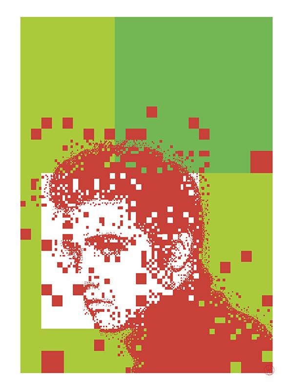 Elvis Presley, 2020, New Media, 29,7 x 42 cm