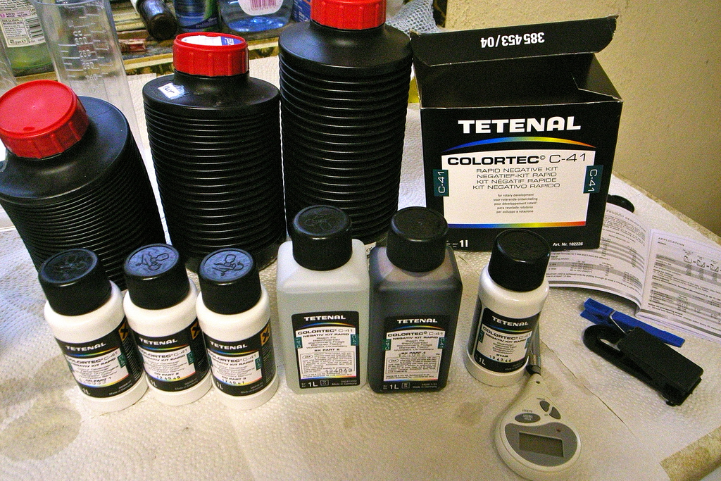 Photochemical producer Tetenal is in financial trouble