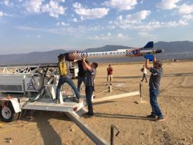 P-20 w drodze na stanowisko startowe, 30 lipca 2016 / Credit: Vector Space System