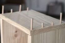 Holzdübel einsetzen