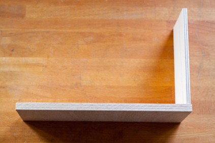 Schublade kleben Schritt 1